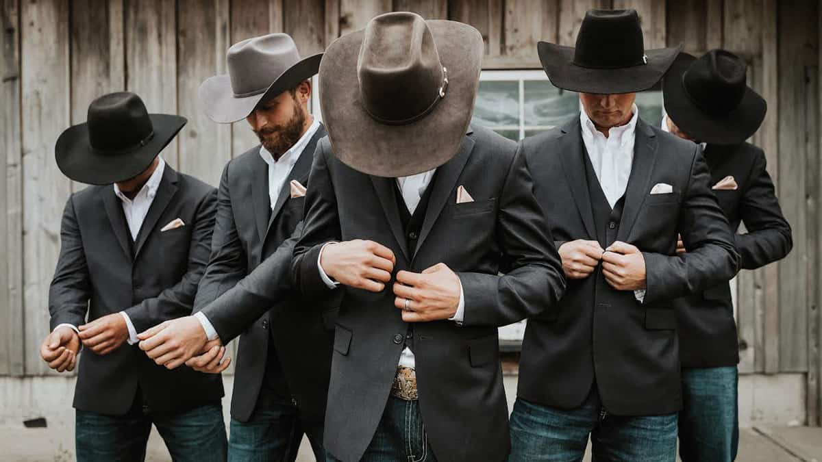 groom attire cowgirl magazine