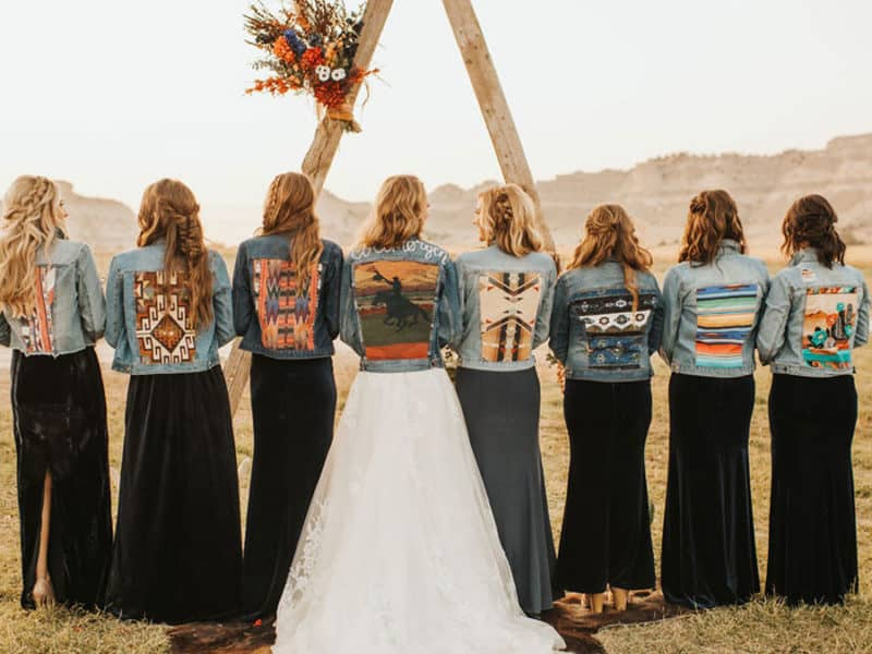 Wedding Jackets Denim Cowgirl Magazine