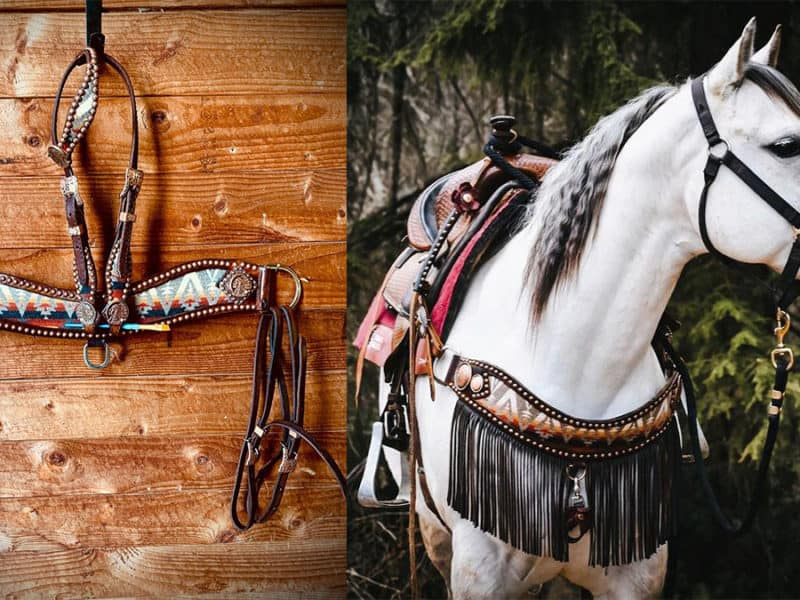 Pendleton Tack set cowgirl magazine