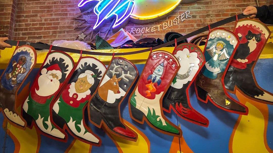 Rocketbuster Stockings