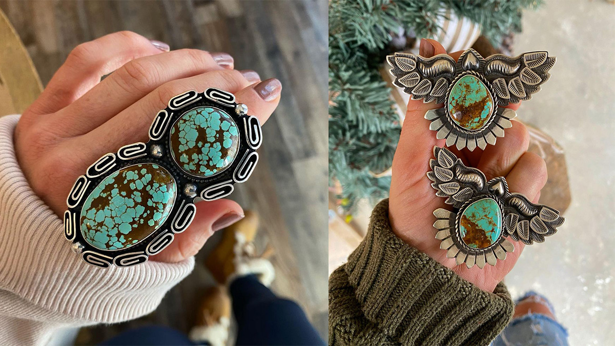 Turquoise rings cowgirl magazine