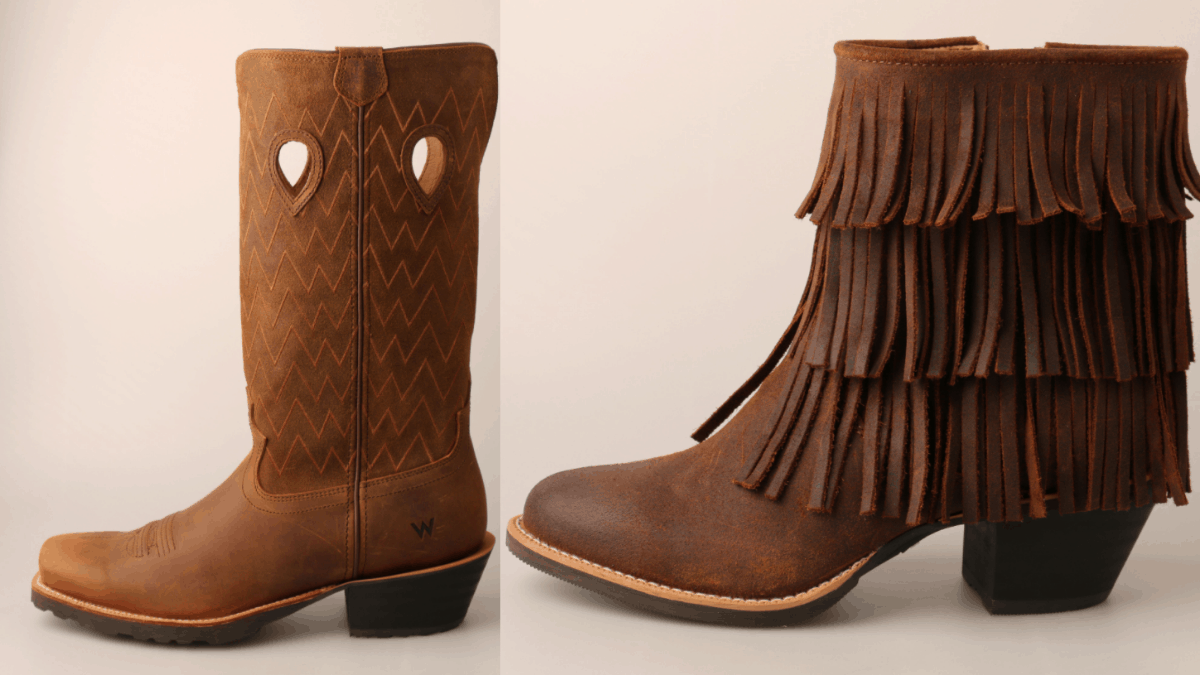 Wrangler Footwear Collection cowgirl magazine