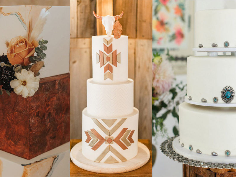wedding cakes cowgirl magazine