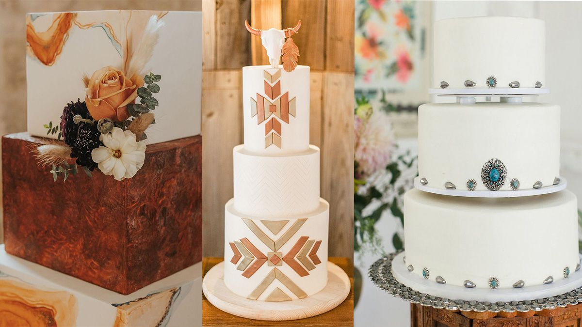wedding cakes cowgirl magazine