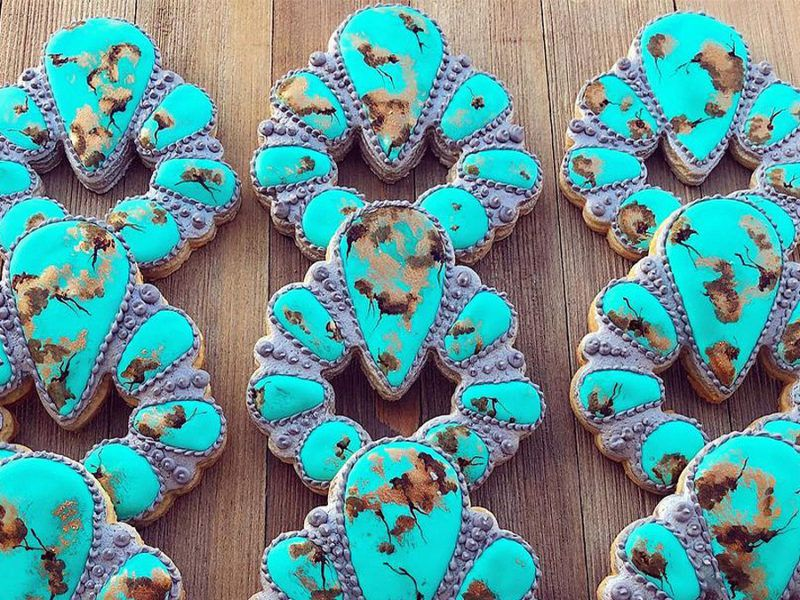 turquoise cookies cowgirl magazine