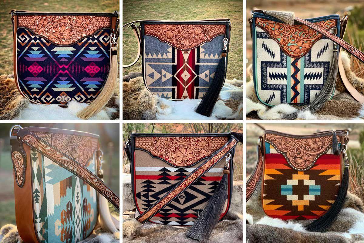 Boedeker Leather crossbody bag cowgirl magazine