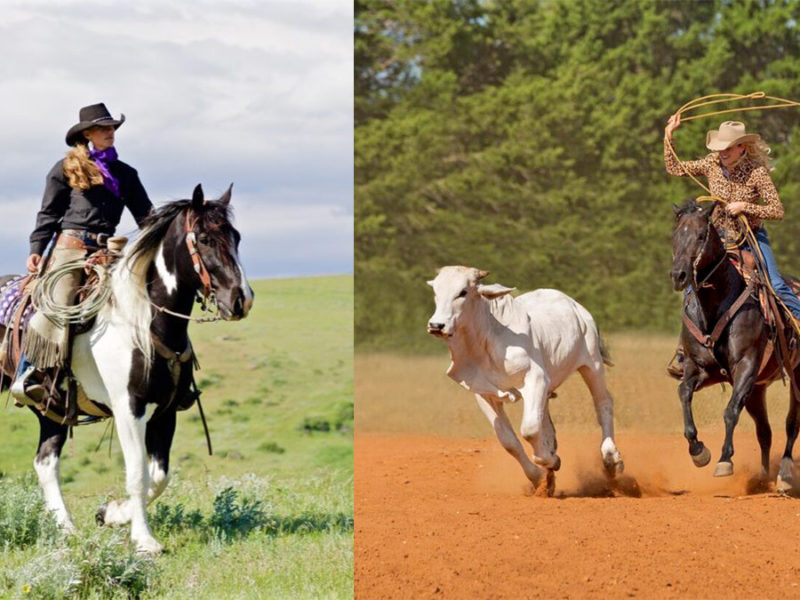 Christina Tift (left) and Sarah McKibben (right). All photos courtesy of Cowgirl Cadillacs.