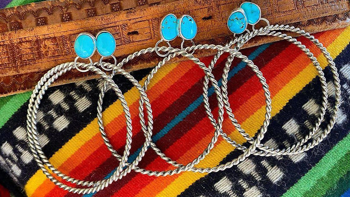 hoop earrings cowgirl magazine