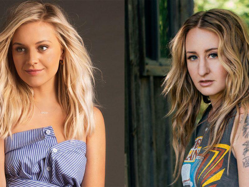 Left photo Kelsea Ballerini courtesy of Billboard.com. Right photo Margo Price by Daniel Meigs.