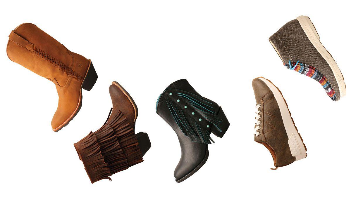 wrangler footwear cowgirl magazine