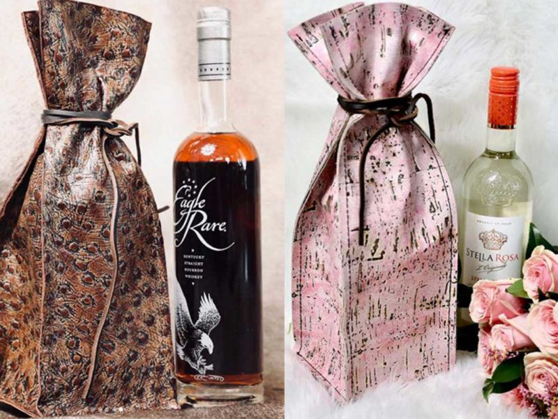 gift giver cowgirl magazine wine whiskey