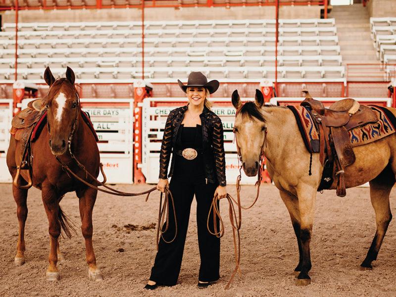 katherine merck cowgirl magazine