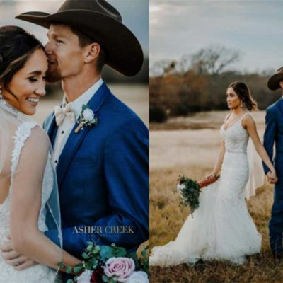 Cole Melancon raelee Melancon cowgirl magazine wedding cowgirl weddings