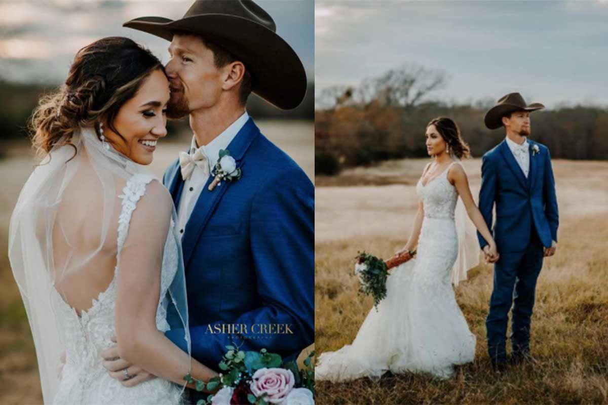 Cole Melancon raelee Melancon cowgirl magazine wedding cowgirl weddings