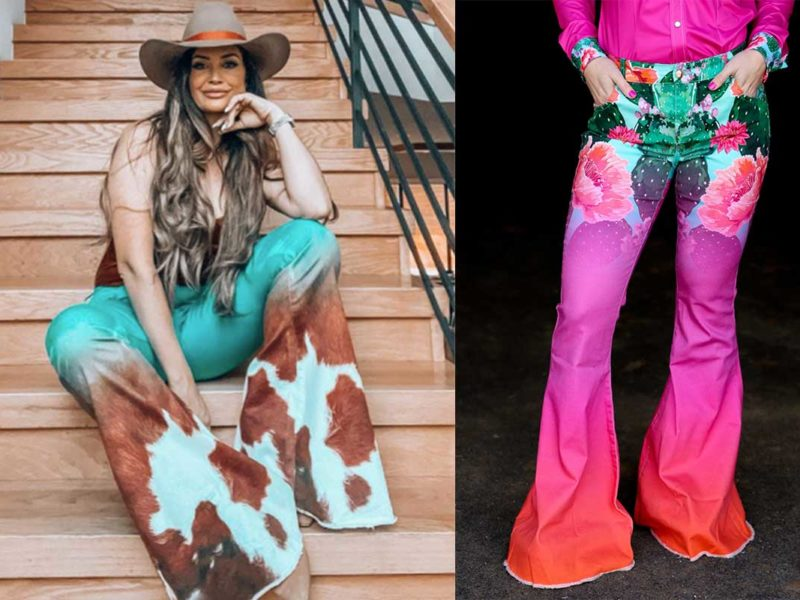 fallon taylor super flares super flare bell bottoms bell bottom cowgirl magazine ranch dressn