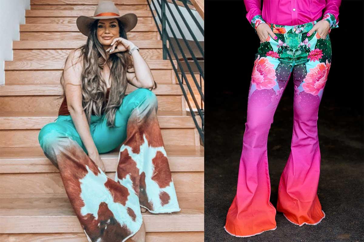 fallon taylor super flares super flare bell bottoms bell bottom cowgirl magazine ranch dressn