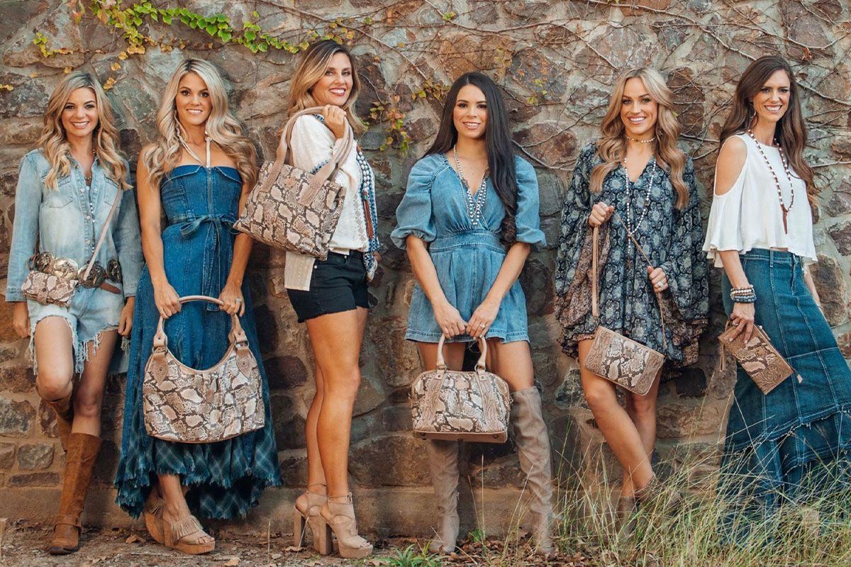 Stella snakeskin collection sts ranchwear cowgirl magazine