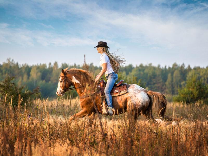 horse girl say cowgirl magazine