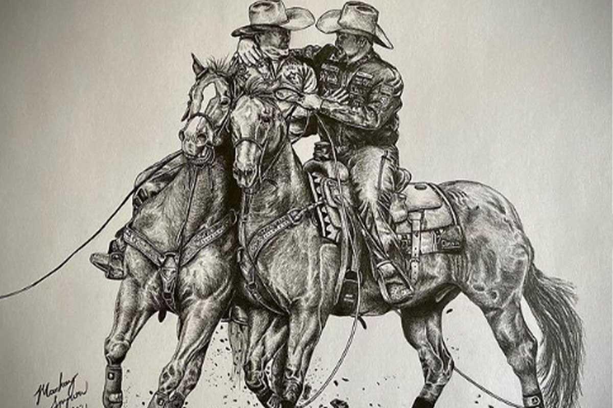 Mackay Spyrow Artwork cowgirl magazine