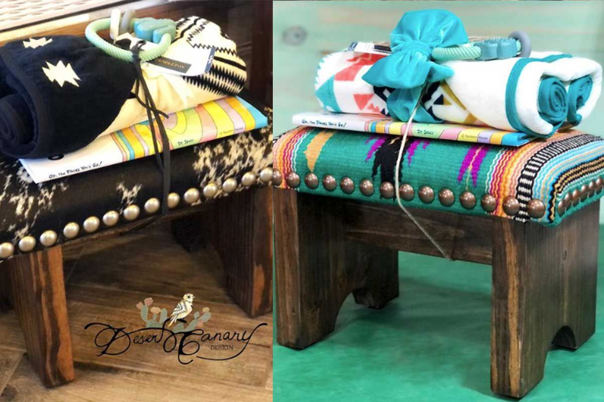 baby shower gift desert canary design cowgirl magazine