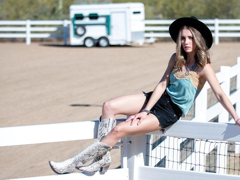 boots are a cowgirls best friend cowgirl magazine