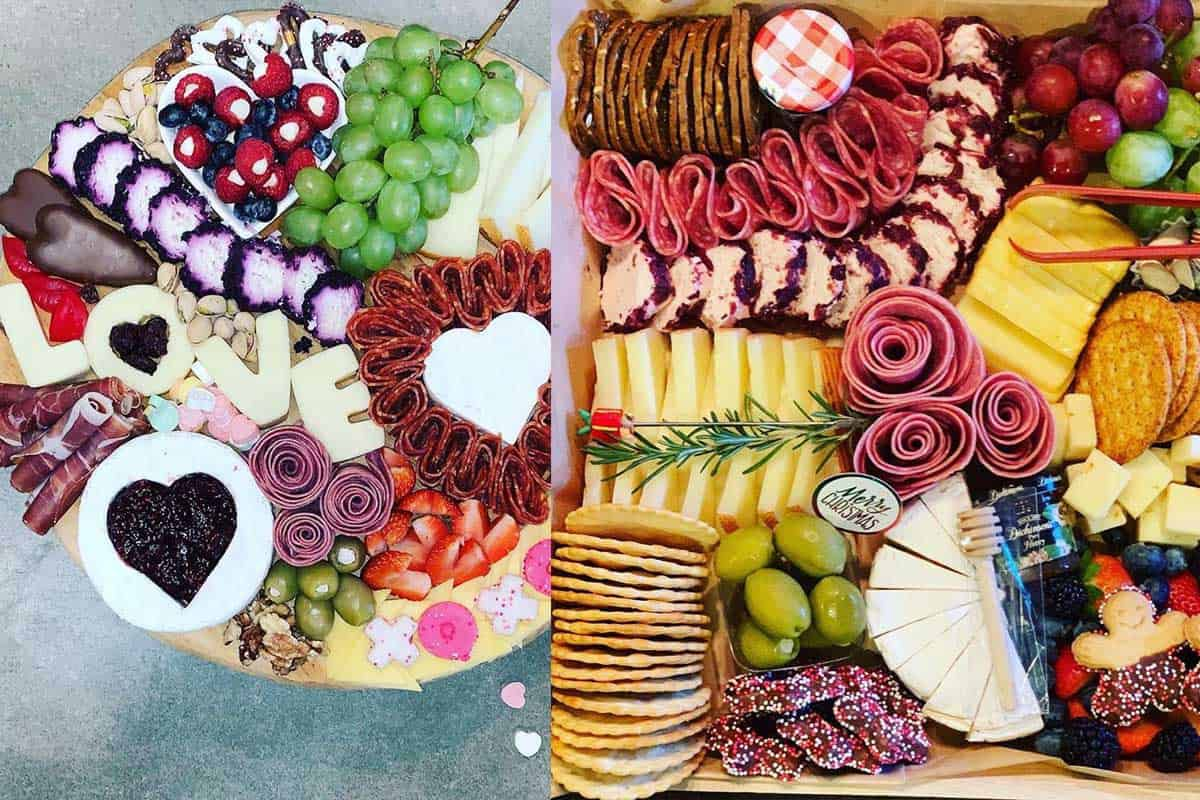 charcuterie boards scattered platter cowgirl magazine
