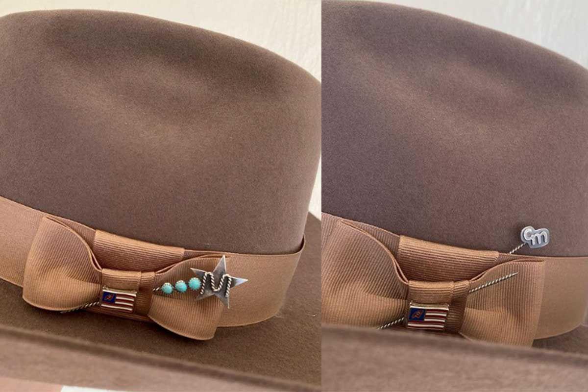 hat pins cowgirl magazine