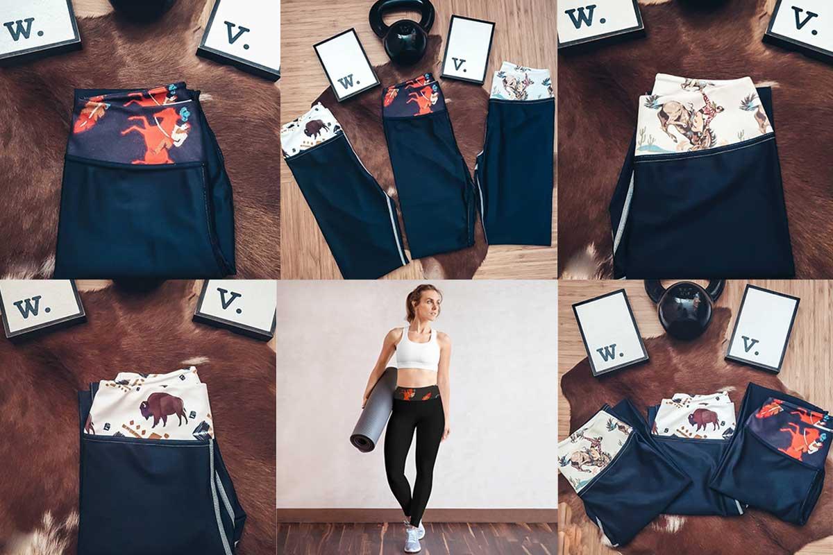 wild vogue style activewear cowgirl magazine