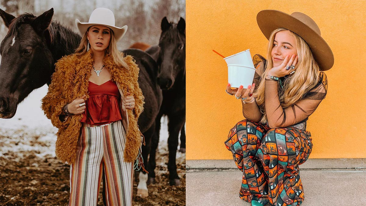 patterned pants cowgirl magazine