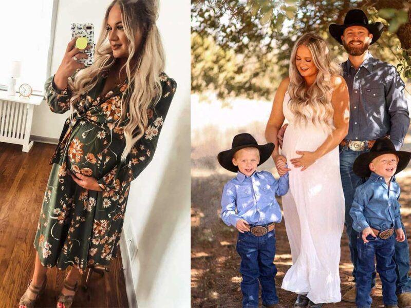 mcginn party of five Rachel Joi pregnant cowgirl magazine