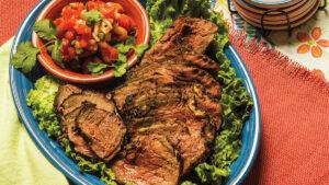 COWGIRL In The Kitchen: Santa Maria-Style Bison Tri Tip
