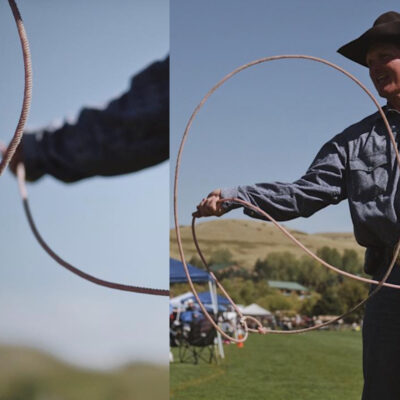 roping tricks cowgirl magazine