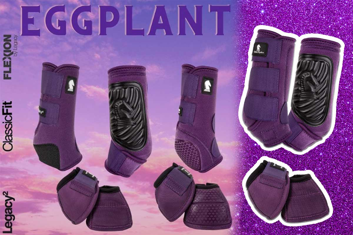 eggplant sports boots classic equine cowgirl magazine
