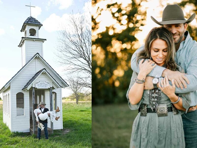Matt West Megan west cowgirl magazine
