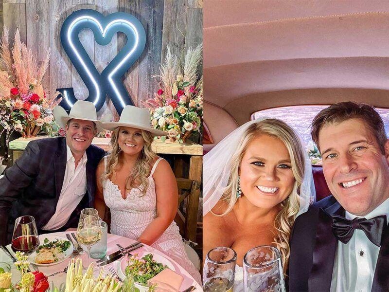 cowboy channel wedding raquel Gottsch Sean Koehler cowgirl magazine
