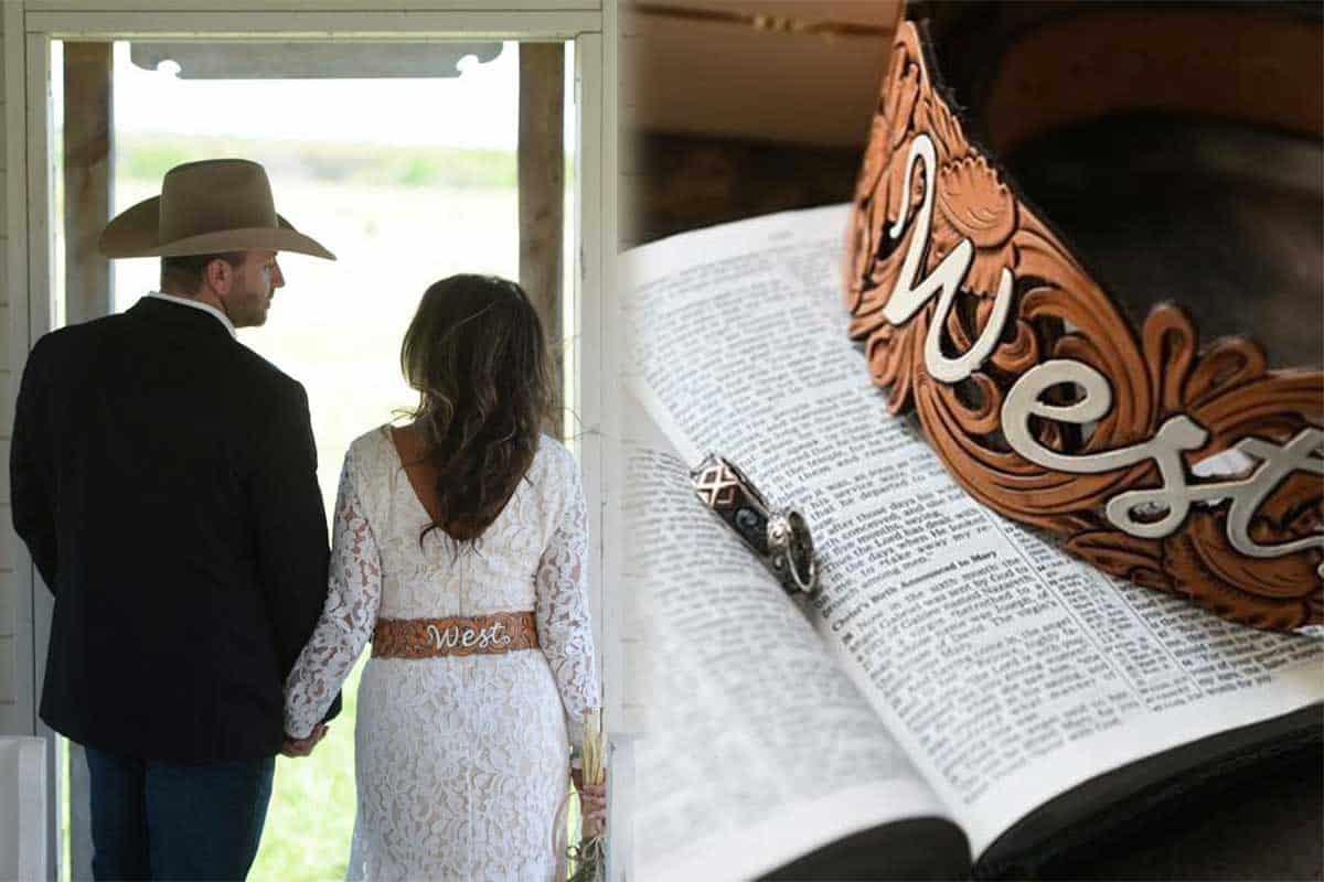 wedding belt west day ever