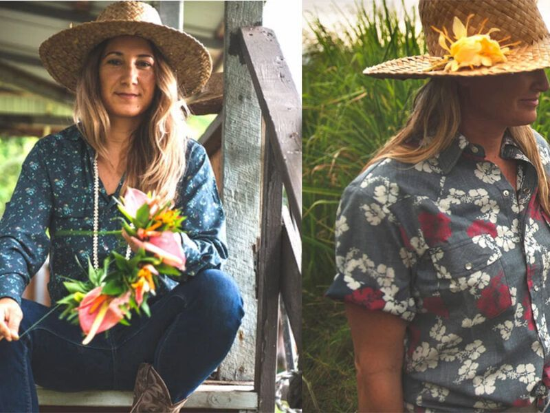 Western Aloha Shirts Cowgirl Magazine