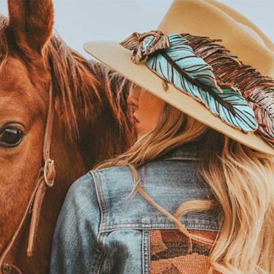 Ruffle Some Feathers cowgirl magazine