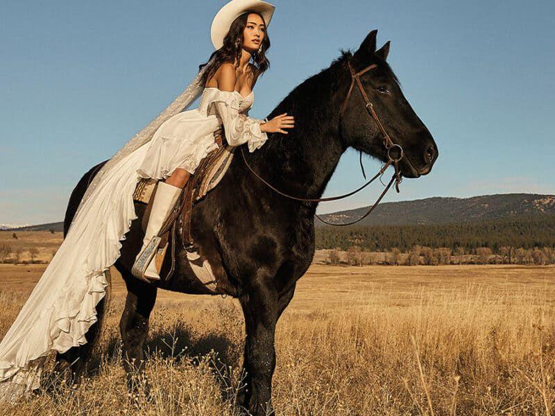 alternative love cowgirl weddings in love cowgirl magazine