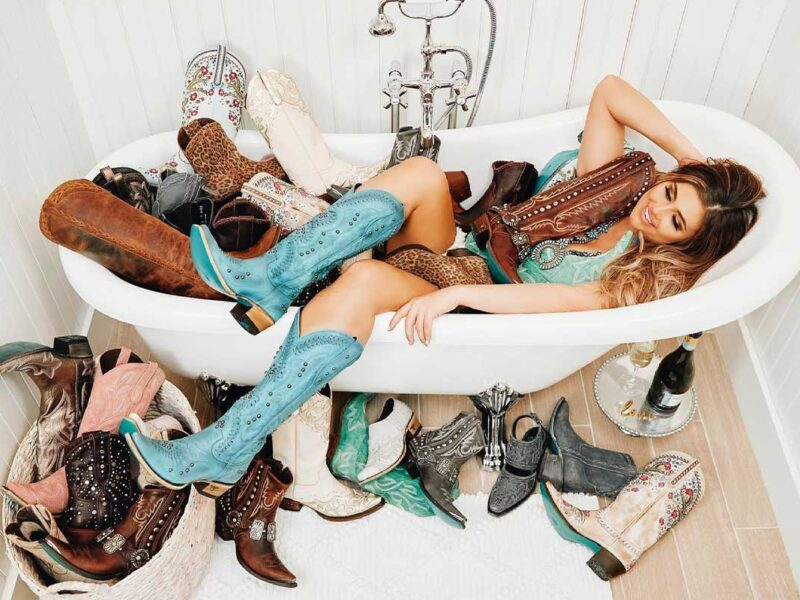 bubble bath lane boots cowgirl magazine