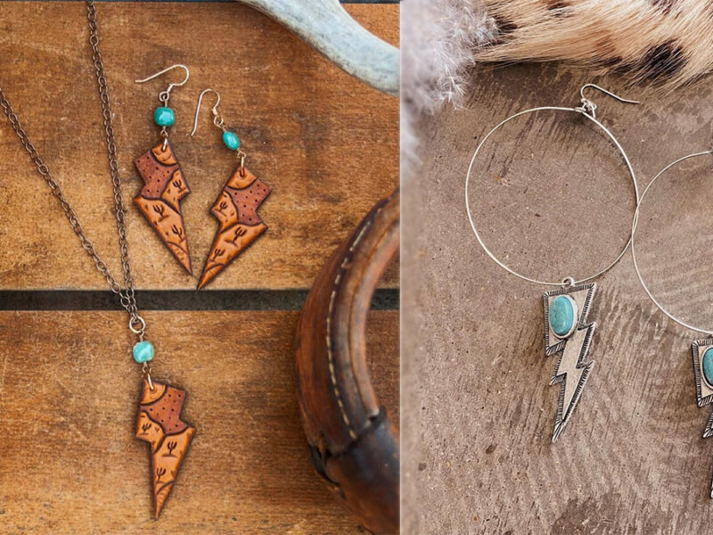 lightning bolt jewelry cowgirl magazine