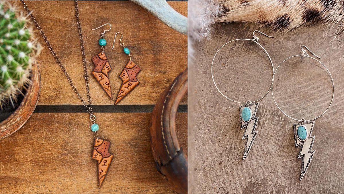 lightning bolt jewelry cowgirl magazine