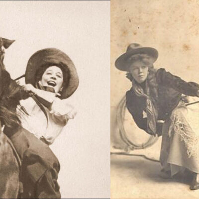 wild women of the west lucille mulhall cowgirl magazine