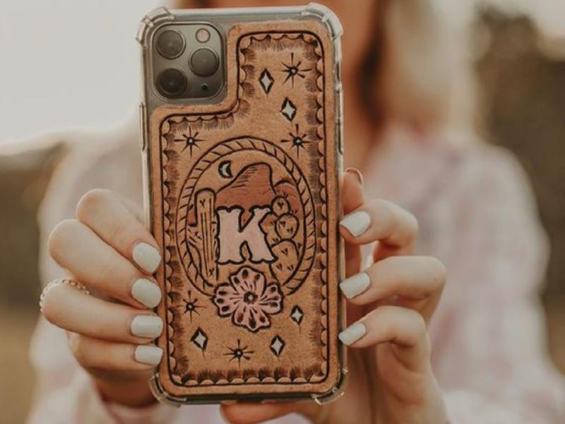 cowgirl-magazine-leather-phone-case