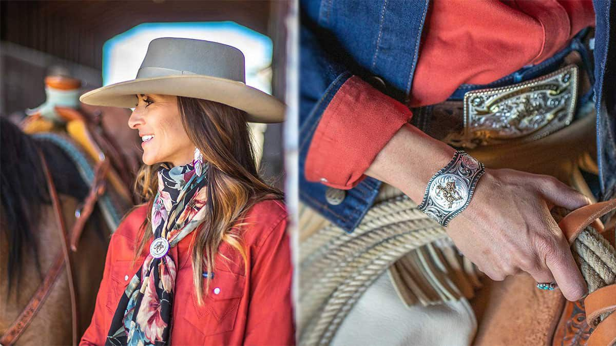 art of the cowgirl montana silversmiths cowgirl magazine