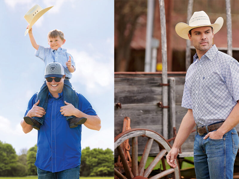 Cavenders Father's Day cowgirl magazine