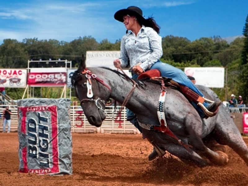 Makawao Rodeo cowgirl magazine