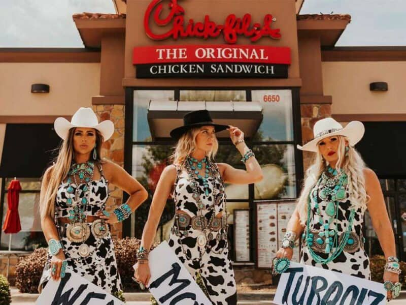 chick fil a Chick-Fil-A wear more turquoise cowgirl magazine