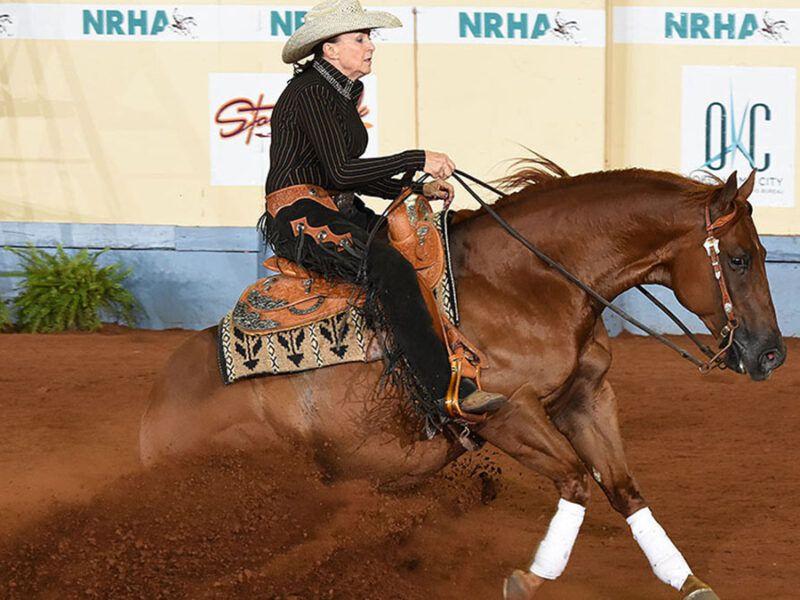 national reining horse association derby 6666 ranch cowgirl magazine