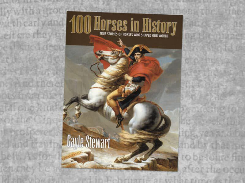100 horses in history book review cowgirl magazine